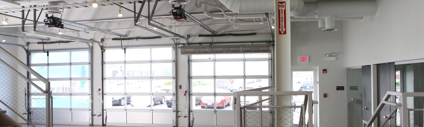rapid garage door & awning installs liftmaster commercial door operators