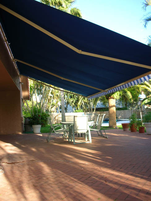 Retractable Awnings from Rapid Garage Door & Awning in Grand Rapids, Minnesota.