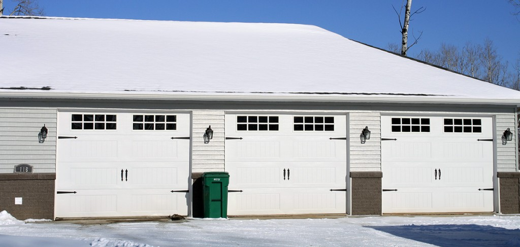 commercial carriage style garage doors